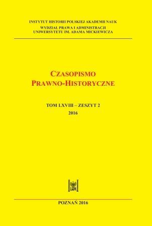 Czasopismo Prawno-Historyczne