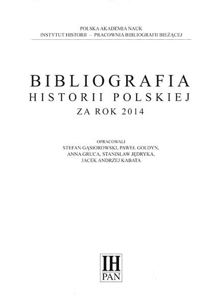 Bibliografia2014