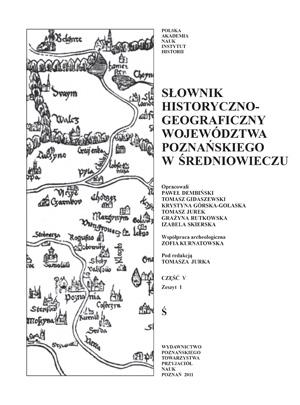 Słownik historyczno-geograficzny