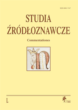 Studia Zrodloznawcze_50.cdr